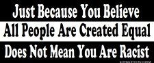 GOP Anti Political Correctness Political Bumper Sticker Funny