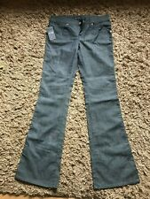 Armani Jeans Ladies Womens Flare Style Denim Jeans (Grey/Blue) W32 L34 - BNWT