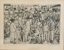 Djanira Da Motto E Silva Etching / Engraving Signed Numbered Dated Titled 14/30