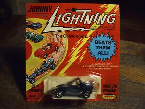 VINTAGE ORIGINAL 1970 TOPPER JOHNNY LIGHTNING DEEP AQUA / TEAL SAND STORMER BP