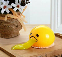Matschig kotzen Ei Eigelb Stress-Ball mit gelben Goop