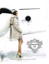 PUBLICITE ADVERTISING 025  2014  DIEGO M   collection manteau