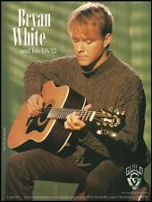 Bryan White 1998 Guild DV52 Acoustic Guitar ad 8 x 11 advertisement print