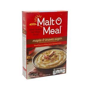 12-Pack Malt-O-Meal Maple & Brown Sugar Hot Cereals, 28 Oz. Each Box
