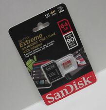 Sandisk 64G Micro Extreme U3 4K ultra HD video SD card for DJI Mavic Pro air