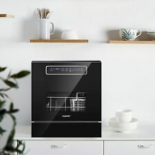 Built-in Dishwasher 8 Place Setting Countertop Dishwasher Quick Wash&Heavy Wash