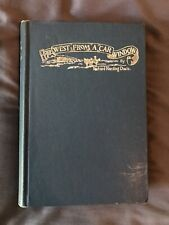 1892 West From Car Window Davis Frederic Remington Art Texas Ranch Life History