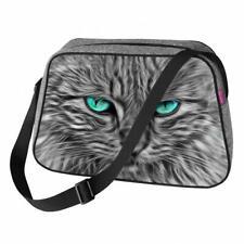 Bolso de Mano Bolso de Fieltro Bolso de Bandolera Motivo: Gato Eyes