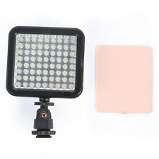 72-LED Digital Video DV Light hot shoe For Canon EOS 80D 7D II 760D 5DIII Camera
