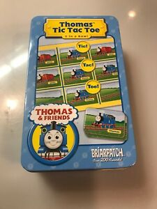 NEW Thomas & Friends Tic Tac Toe Game Game In Tin Box
