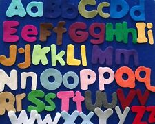 Alphabet Upper and Lower Case Letters Felt Set for the Flannel Board