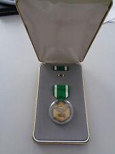 ^ US Orden Navy Commendation Medal Nachlass Chandler mit Beschriftung