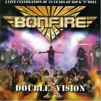 BONFIRE - DOUBLE X VISION   CD NEU