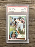 1983 Topps Tony Gwynn PSA 8 Rookie #482 RC