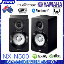 Yamaha NX-N500 MusicCast Wireless Bluetooth AirPlay Speakers Black-Carton Damage
