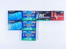Mini DV Casette Tapes - Lot of 7 - New and Sealed