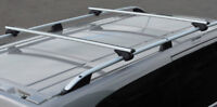 Cross Bars For Roof Rails To Fit Fiat Qubo (2007+) 100KG Lockable