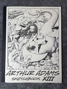Arthur Adams Sampler Sketchbook Volume XIII 13 2015 Signed