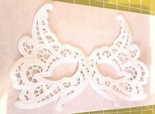 Mask Embroidered Lace Eye Mask Top Face White Carnival Masquerade Halloween