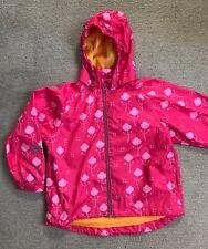 Minymo Summer Jacket Showerproof , Age 5, Pink & Yellow, Danish Designer- VGC!