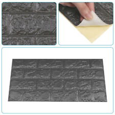 10X 60×30cm 3D Azulejo Ladrillo Pared Adhesivo Auto-Adhesivo Impermeable PE Espuma Panel