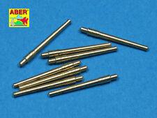 Aber 1:700 Set of 8 pcs 356mm (14in) L45 Vickers Type 41 Barrels SL-028*