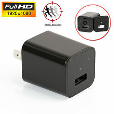 1080P Spy Camera UX-8 ScoutOut DVR USA AC Adapter USB Wall Charger Surveillance
