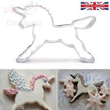 Cortador de galletas de Unicornio Caballo Pastel Decoración Molde de Galleta Pastelería Horneado