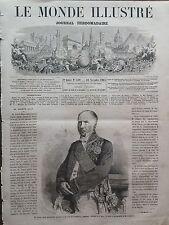 LE MONDE ILLUSTRE 1865 N 449 LE DECES DE M.ANDRE-MARIE-JEAN- JACQUES DUPIN ainé
