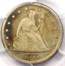 1875-CC Twenty Cent Piece 20C - Certified PCGS VG8 (Carson City) - $450 Value