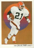 FREE SHIPPING-MINT-1991 Upper Deck #76 Eric Metcalf Browns COLLECTORS CHOICE