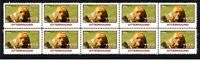 OTTERHOUND STRIP OF 10 MINT YEAR OF THE DOG VIGNETTE STAMPS 1