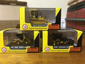 N gauge Norscot construction minis 3 models ! NEW and boxed