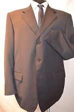 CANALI -ITALY SMART CLASSIC ELEGANT GREY SUIT JACKET/BLAZER UK 46R EU 56R