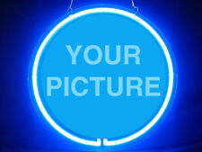 Your Picture Personalized Custom Made Customize Display Neon Sign
