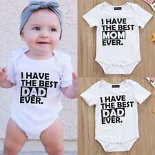 Newborn Baby Girl Boy Clothes Set Short Sleeve Romper Jumpsuitnett