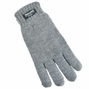 Childrens Kids Boys Girls 3M Thinsulate Heavy Quality Knitted Lined Gloves GL064