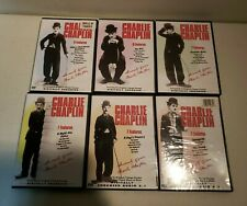 Charlie Chaplin - 6 DVD Set - 44 Movies - Sealed Cases - [CHARITY AUCTION]