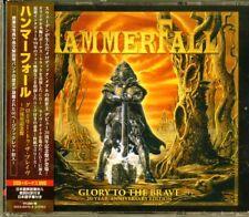 HAMMERFALL-GLORY TO THE BRAVE 20TH ANNIVERSARY...-JAPAN 2 CD+DVD BONUS TRACK K03