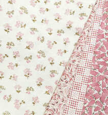 4 DOWNTON ABBEY Quilt Fabric Fat Quarters - The Downstairs Collection - Andover