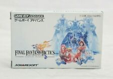 Final Fantasy Tactics Advance Nintendo Game Boy Advance JP Import CIB NA Seller