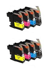 8 NON-OEM INK BROTHER LC-103XL FITS MFC-J470DW MFC-J475DW LC103 LC101 XL J4410DW
