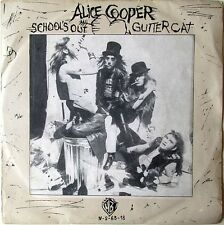 ALICE COOPER SCHOOL'S OUT PORTUGAL original picture sleeve Heavy Metal glam