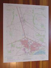 West Memphis Arkansas 1974 Original Vintage USGS Topo Map