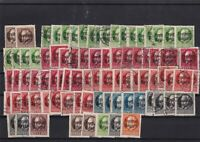 Bavaria 1919 used overprint stamps cat £350 ref 12399