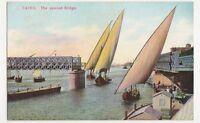 Egypt, Cairo, The Opened Bridge Postcard, B196
