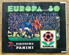Panini Europa 80 - Empty Sticker Pack (NOT RIPPED)