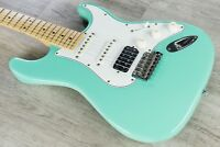 Suhr Classic S Antique HSS Guitar, Light Relic, Maple Board, SSCII - Surf Green