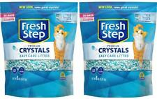 New listing Fresh Step Crystals, Premium Cat Litter, Scented, 8 Pounds (Pack Of 2)