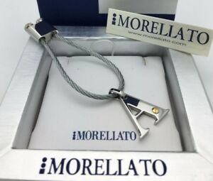 Morellato Stainless Steel Initial Letter Alphabet A-Z Key Chain